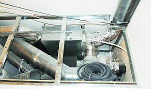 Вентиляцию внутренних помещений